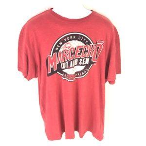 Marc Ecko Men's Red T-shirt 2XL XXL